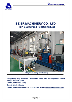 TSK35-Strand-Pelletizing--Plastic-Compounding-Line