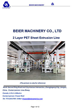 Plastic-PET-Sheet-Line
